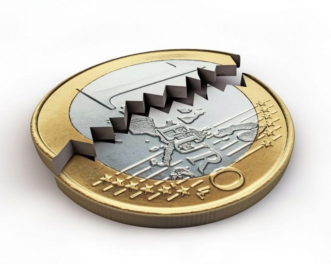 Euro - Monnaie brisée