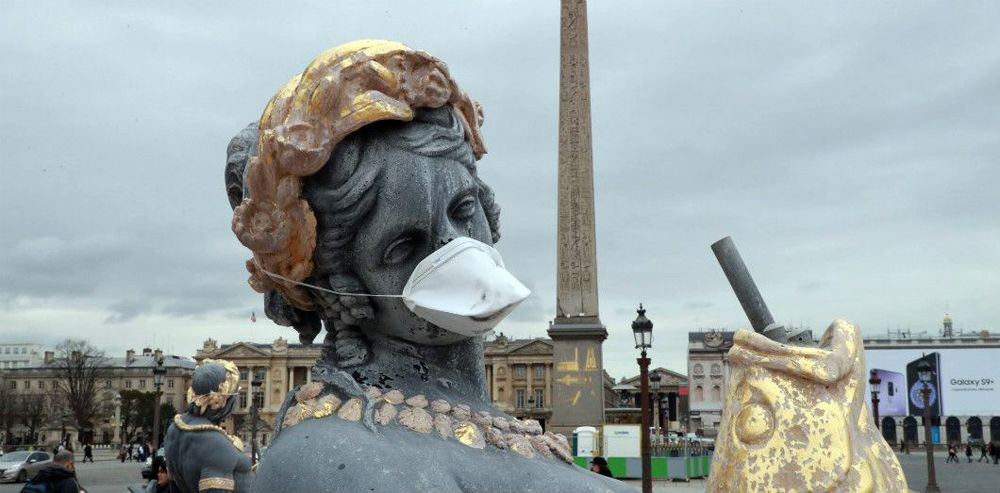 Masque antipollution - 1